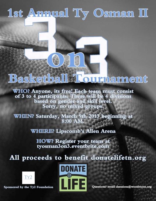 Ty Osman II 3on3 Basketball Tournament