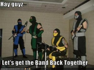 band back together
